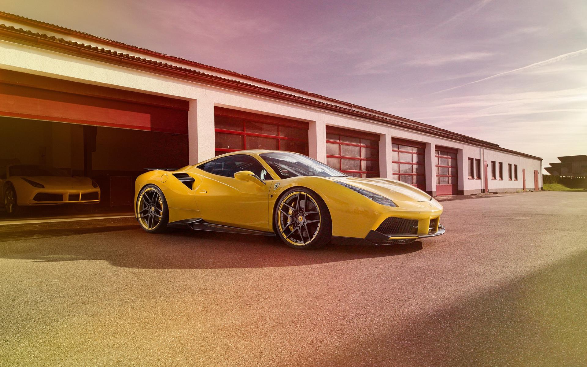 Ferrari 488 GTB Novitec